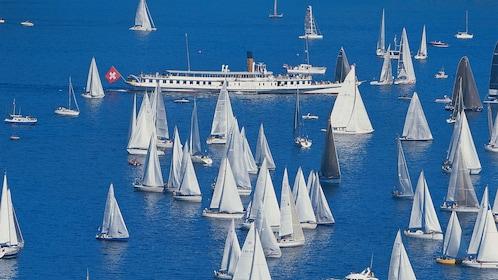 boats in Geneva
