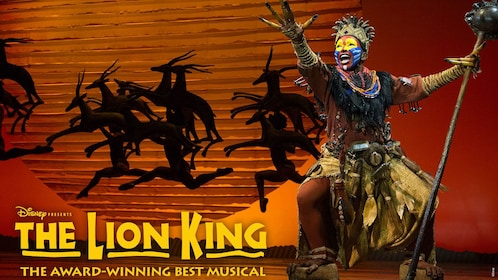 Poster for The Lion King in New York