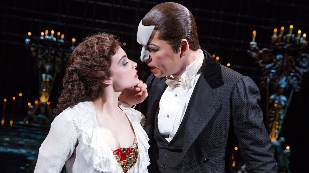 Show item 3 of 10. The Phantom of the Opera On Broadway