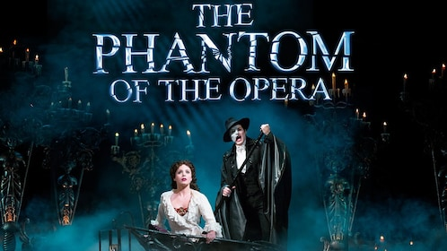 The Phantom in The Phantom of the Opera on Broadway in New York