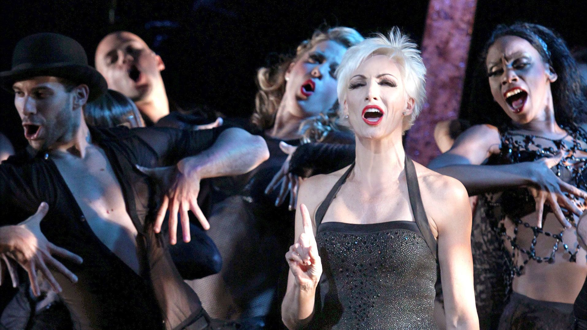 Performance from Chicago on Broadway in New York