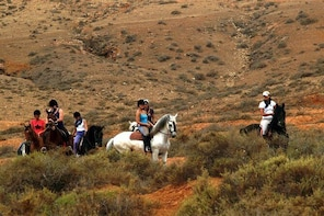 Horseback Riding in Fuerteventura, Spain