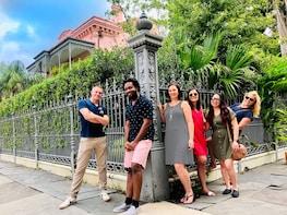 Wandeling langs de landhuizen van het Garden District van New Orleans