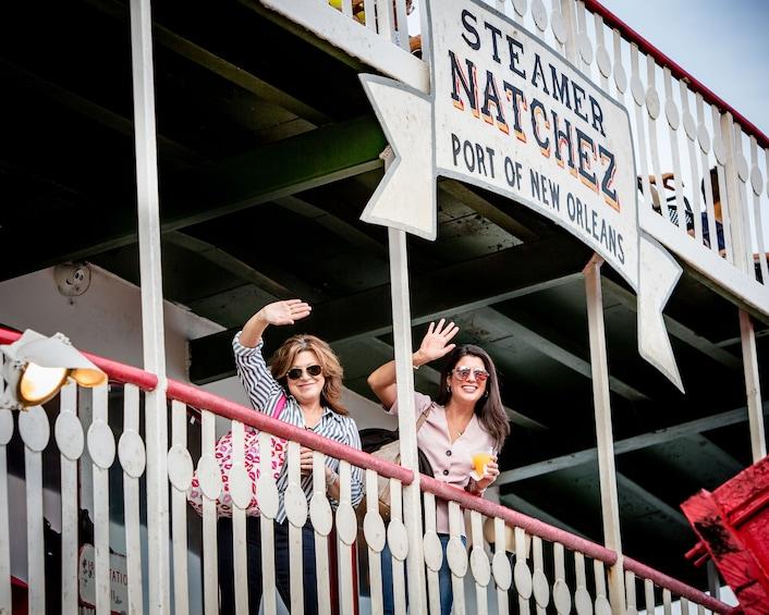 Show item 4 of 10. Steamboat Natchez Evening Jazz Cruise