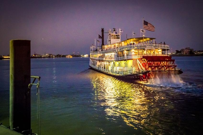 Show item 1 of 10. Steamboat Natchez Evening Jazz Cruise