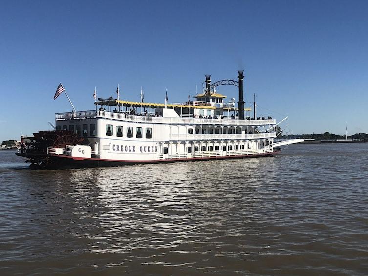 Cargar ítem 3 de 8. Creole Queen Historic Battlefield Cruise