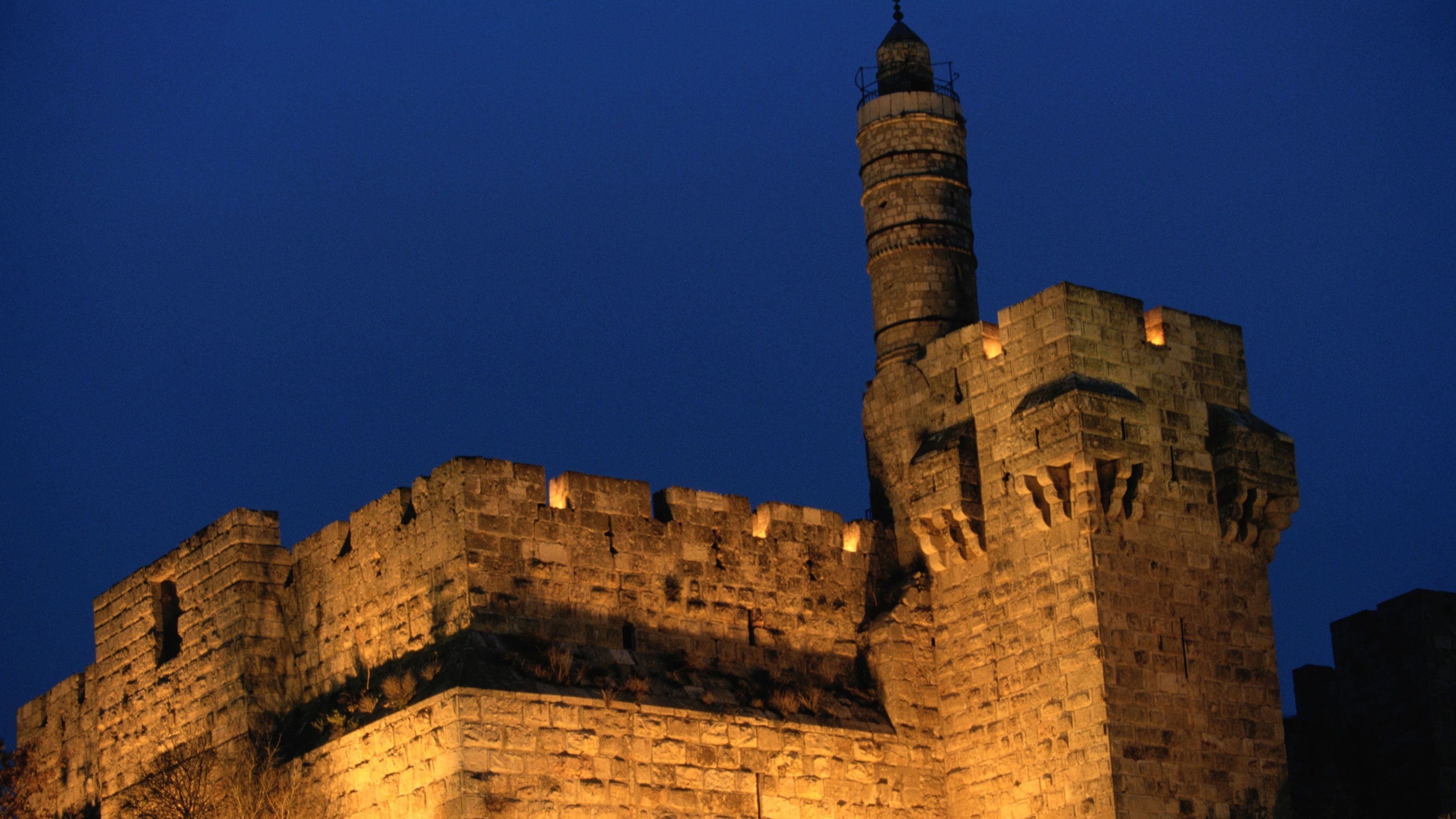 The tower of David in Jersualem