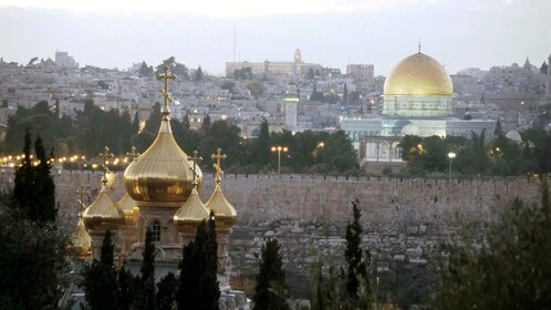 The dome of the rock in Bethlehem