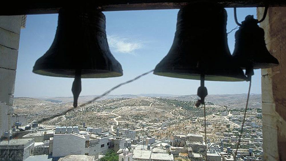 View from a bell tower in Bethlehem