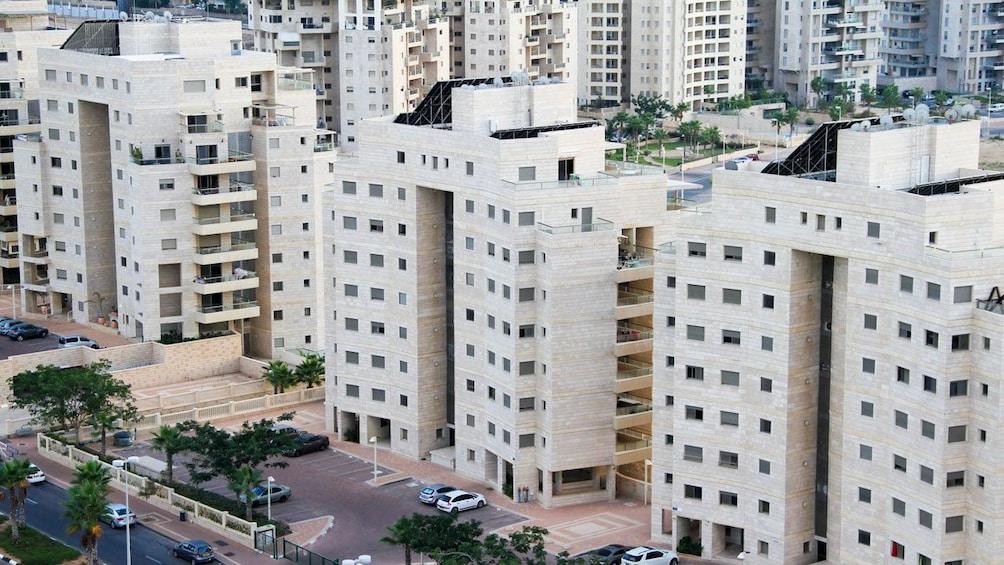 Modern buildings of Jerusalem