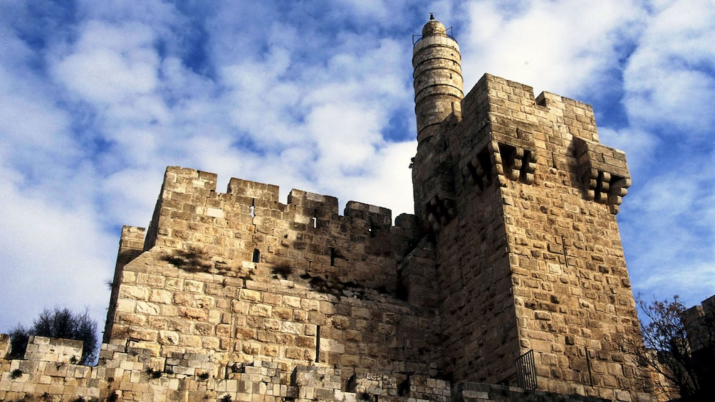ruins of an ancient building in Jerusalem