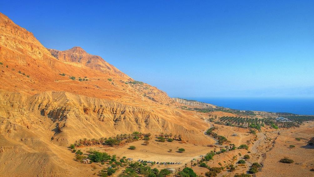 The ruins of Masada