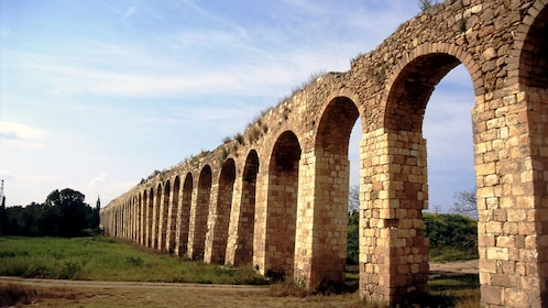 Remains of ancient Aqueducts