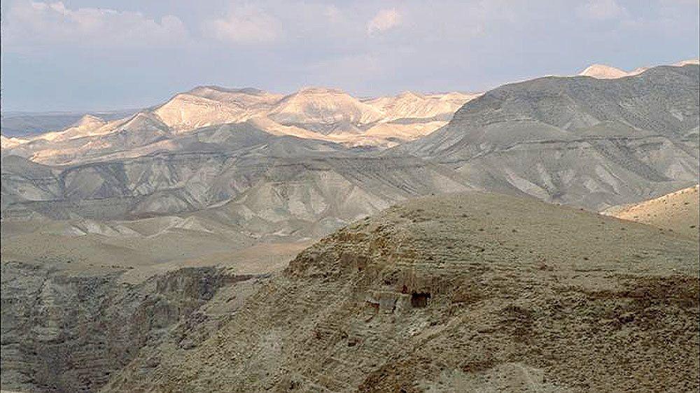 Desert in Jericho