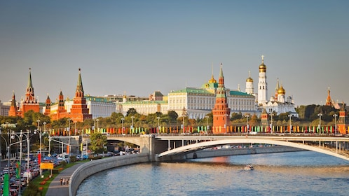 Moscow Kremlin, official residence of the Russian president