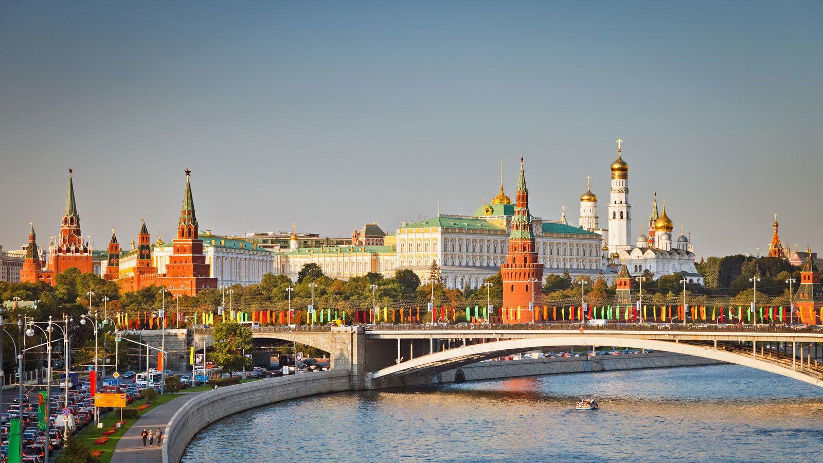 Skyline of the Moscow Kremlin