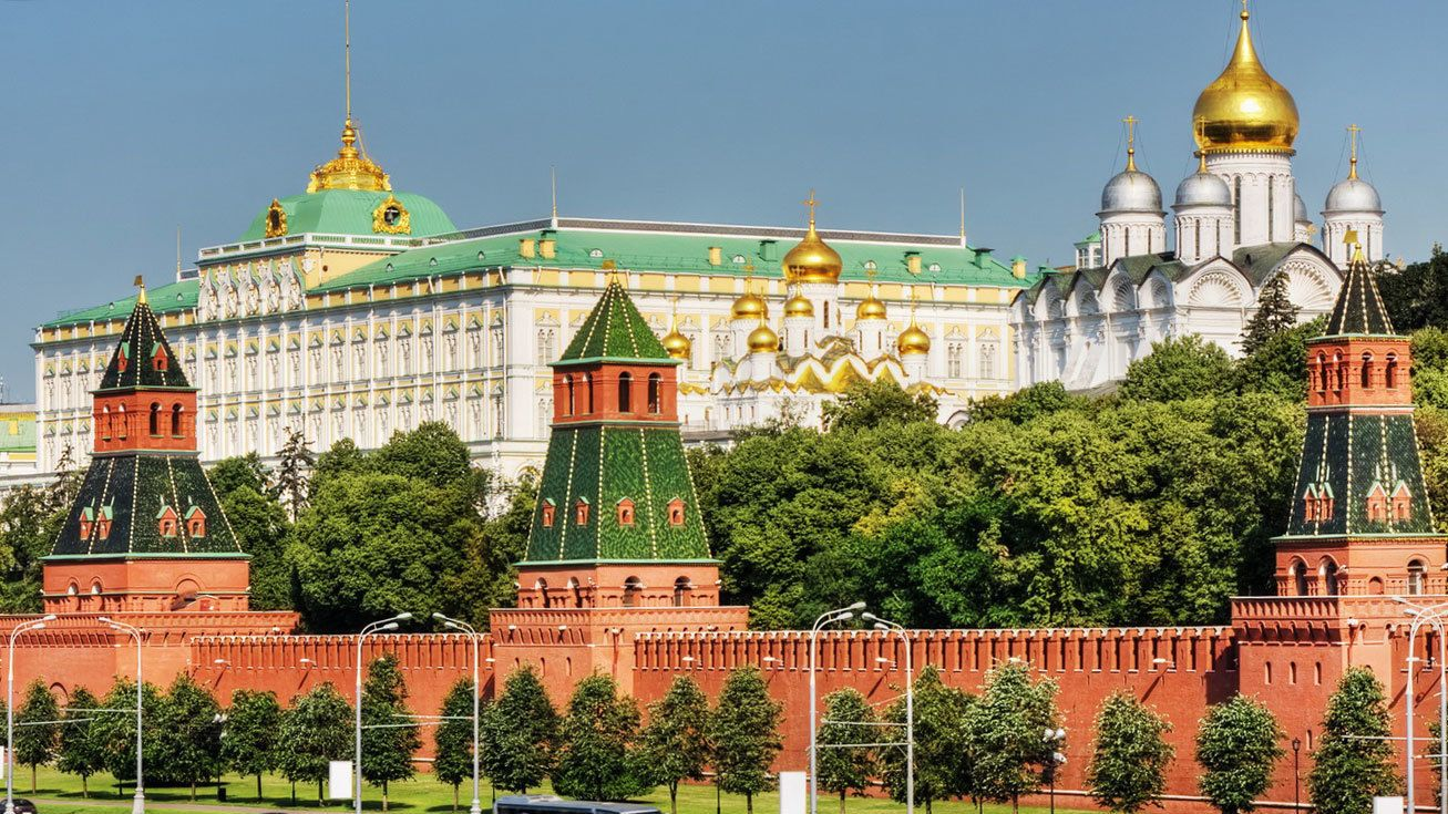 Kremlin, or Russian fortress of Moscow