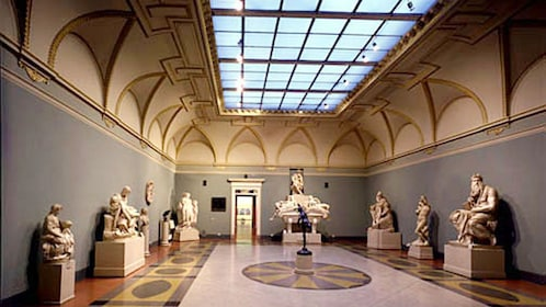 Exhibits of the Pushkin Museum of Fine Arts in Moscow