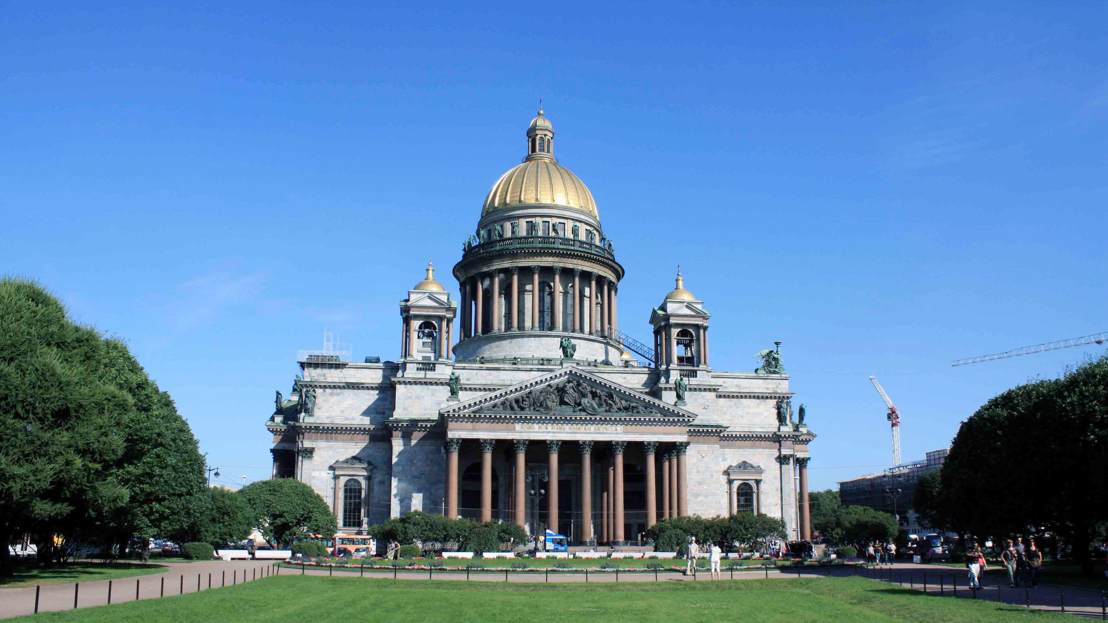 visit Saint Isaac's Cathedral in Saint Petersburg