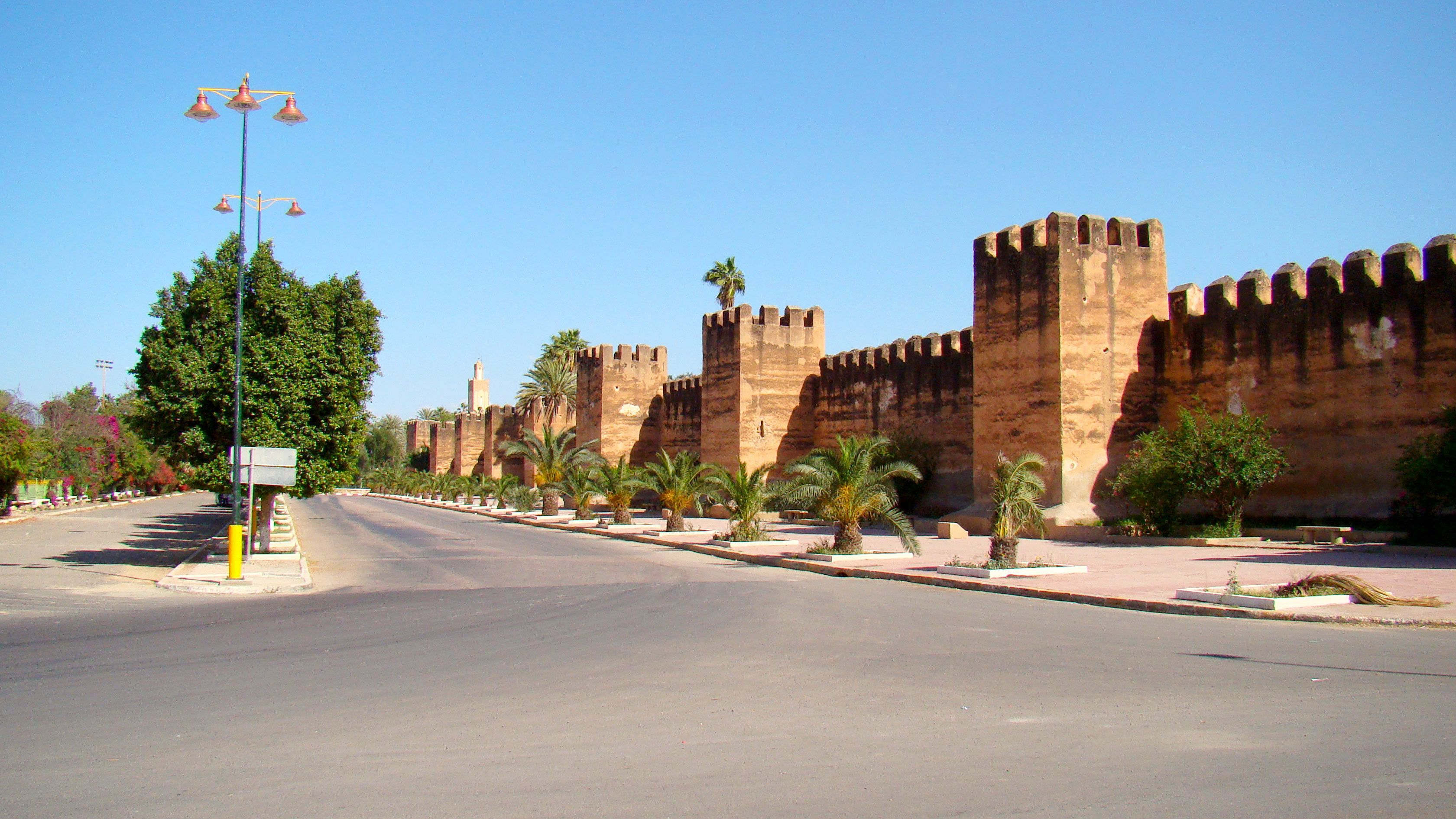 Exterior defensive wall of Taroudant