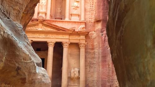 Al Khazneh temple in Petra City