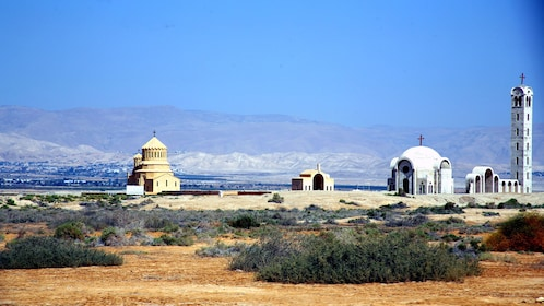 worship structures on the outskirts of Jordan