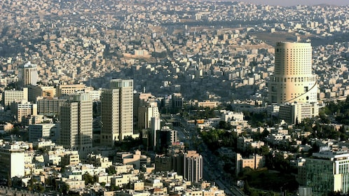 Skyscrapers in the city of Amman