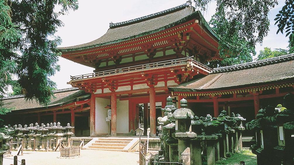 Charger l'élément 1 sur 5. Entrance to courtyard in Tokyo