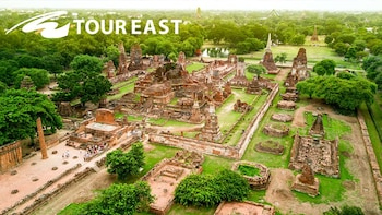 De oude hoofdstad Ayutthaya met riviercruise, lunch en paleis