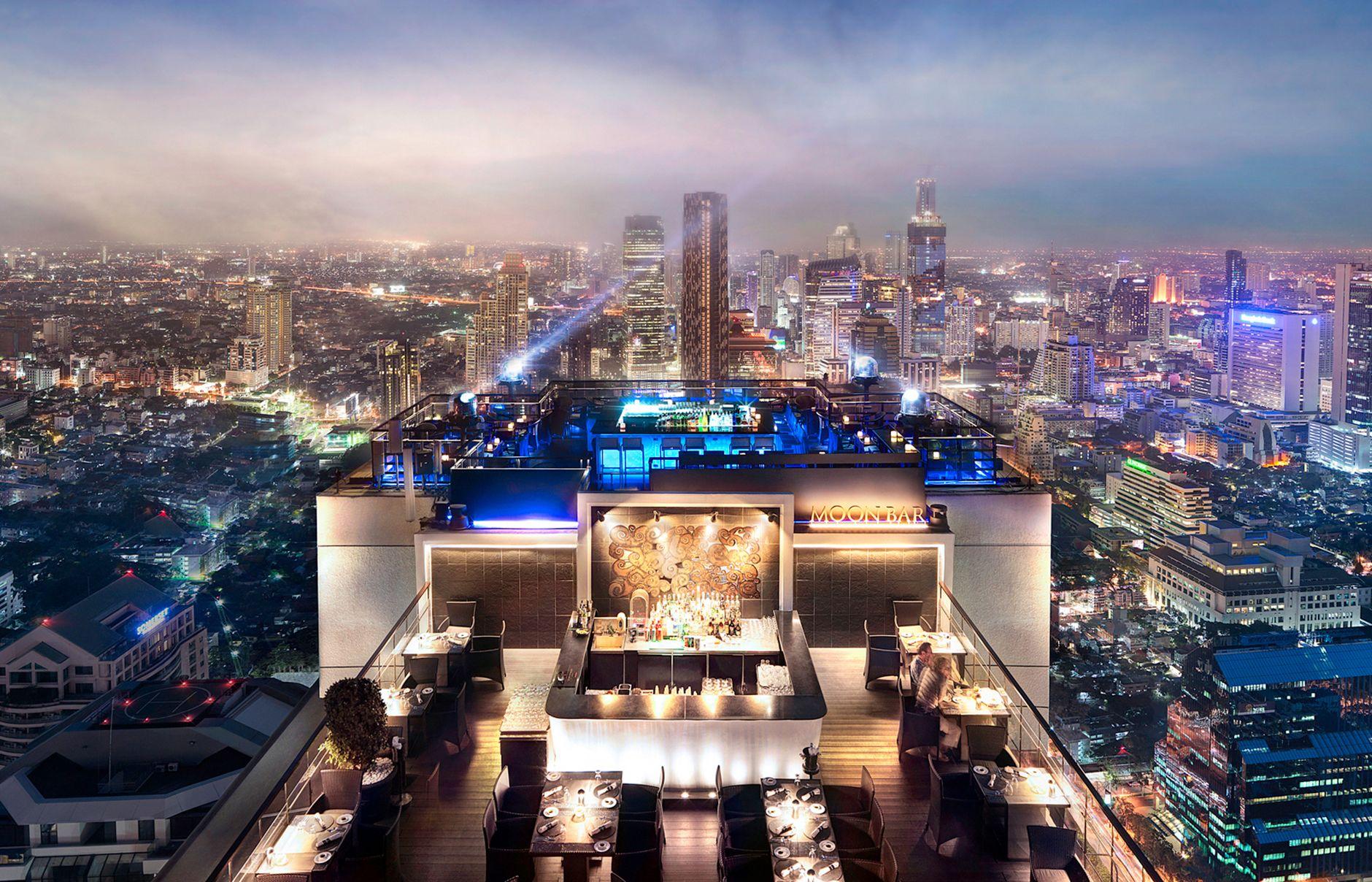 Vertigo and Moon Bar Rooftop Fine Dining Experience