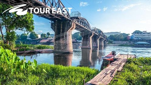 Tour east - Kanchanaburi River Kwai Bridge Tour - river kwai bridge 2.jpg