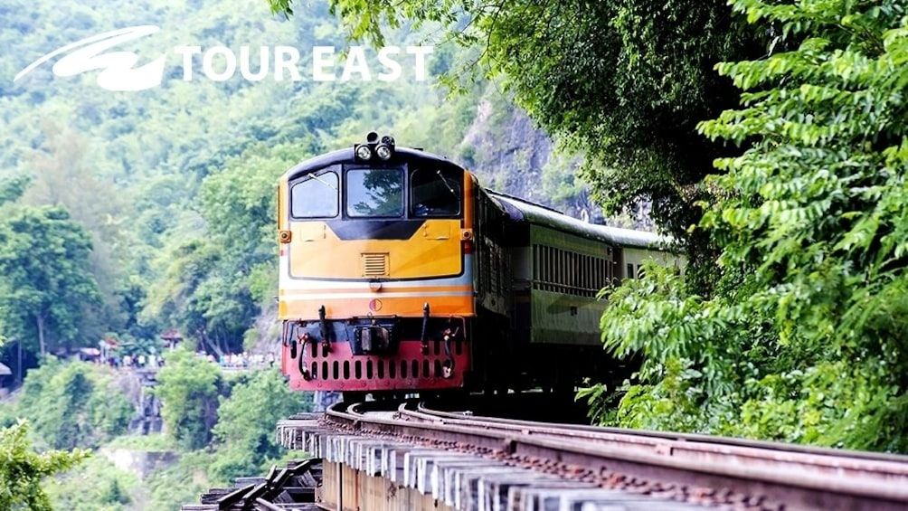 Bridge on the River Kwai with Speedboat, Train Ride & Lunch