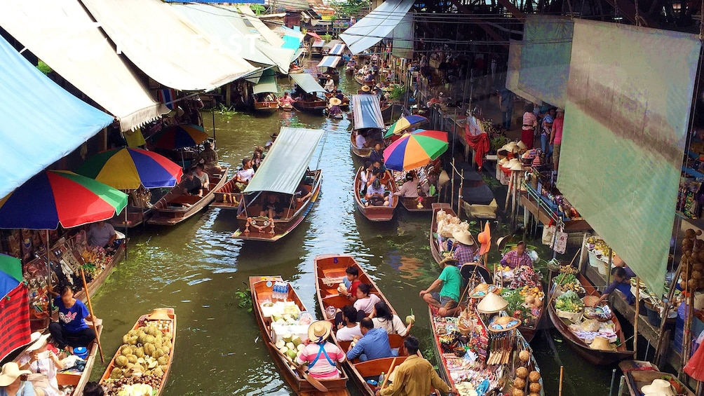 Show item 1 of 10. Floating Market & River Kwai with Speedboat and Lunch