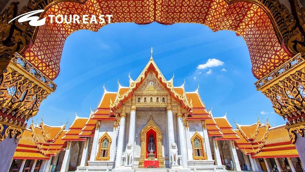 Show item 1 of 10. Golden Buddha, Reclining Buddha & Marble Temple Tour