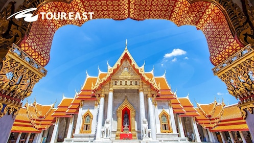 Golden Buddha, Reclining Buddha & Marble Temple Tour