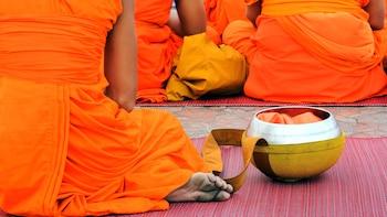 Introducción al budismo en Wat Mahathat