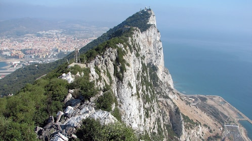 tall mountain peak in Gibraltar