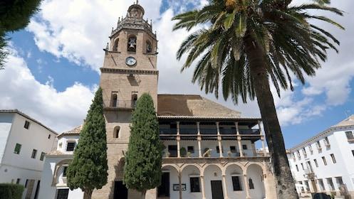 visit the Iglesia de Santa Maria la Mayor in Ronda