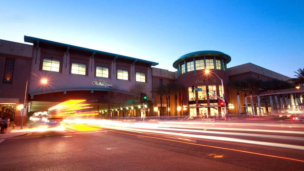 Show item 3 of 4. Scottsdale Fashion Square shopping center at night