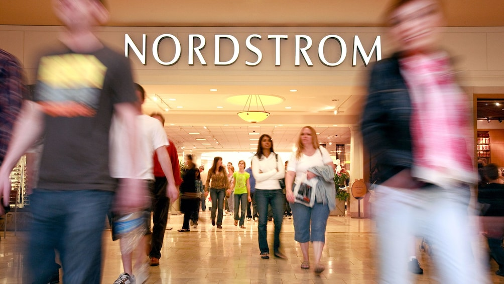 Show item 4 of 4. Shoppers at Nordstrom at Scottsdale Fashion Square shopping center