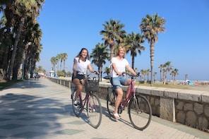 Recorrido en bicicleta por la ciudad de Málaga