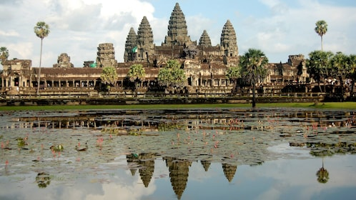 UNESCO-listed World Heritage Site of Ankor Wat