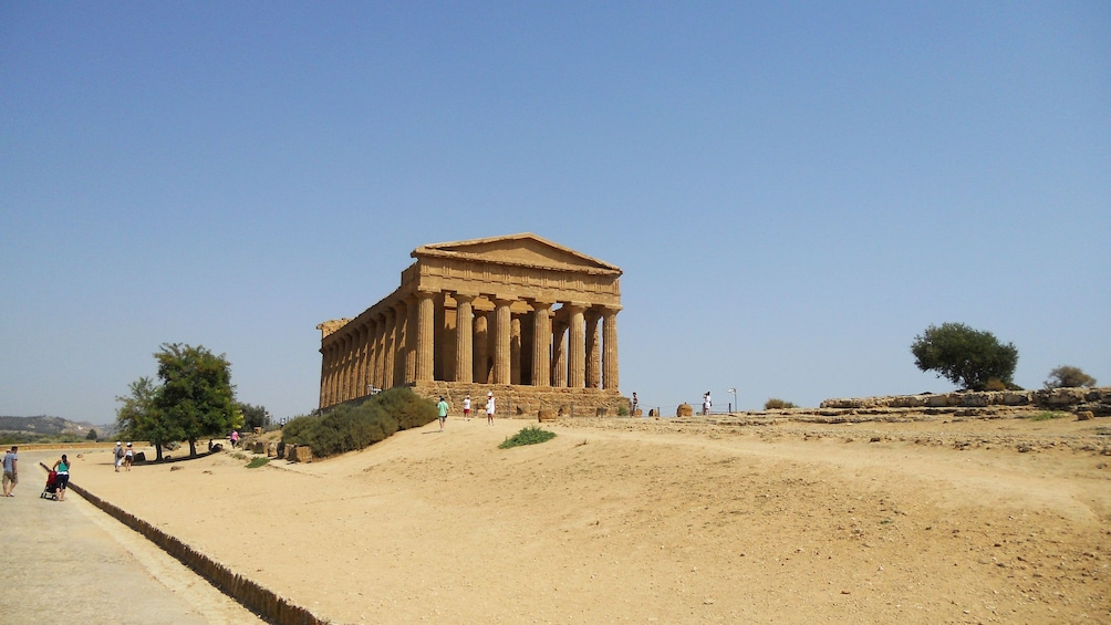 Valley of Temples at Agrigento and Villa Romana del Casale