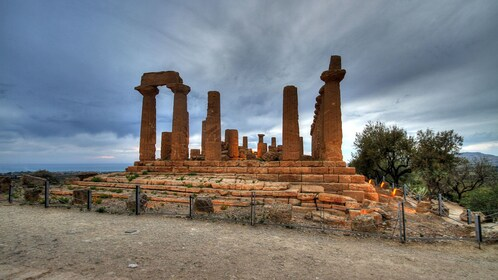 old temple ruins in Sicily