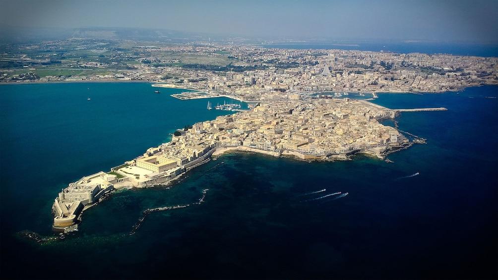 visiting the island of Ortigia in Sicily