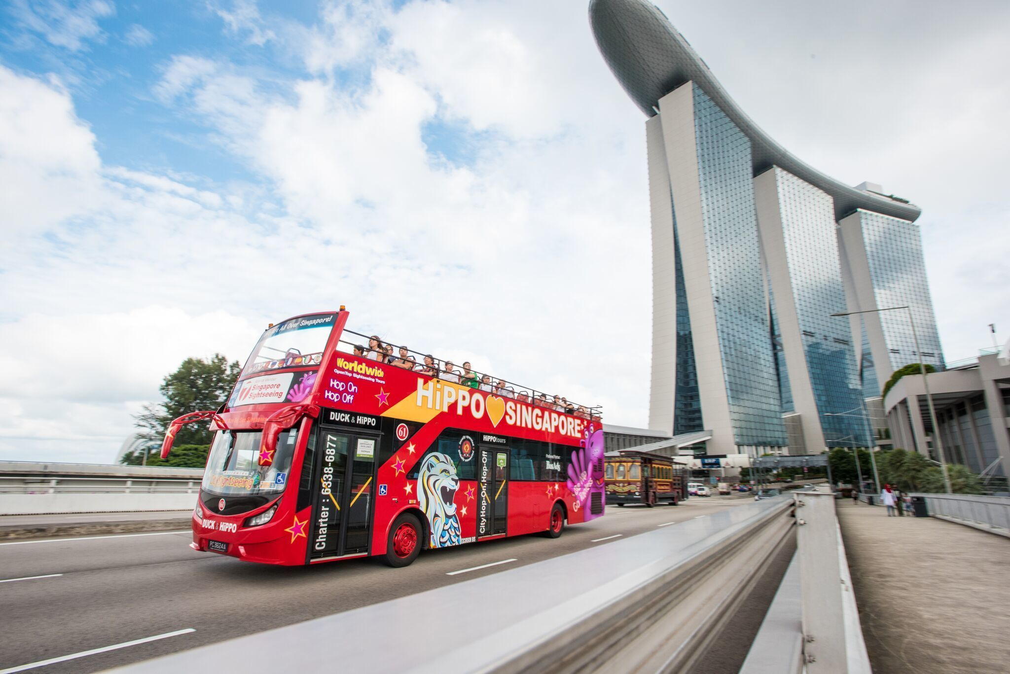 City Sightseeing Singapore Hop-On Hop-Off Bus Tour