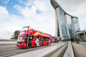 Hop-on, hop-off-bustour door Singapore