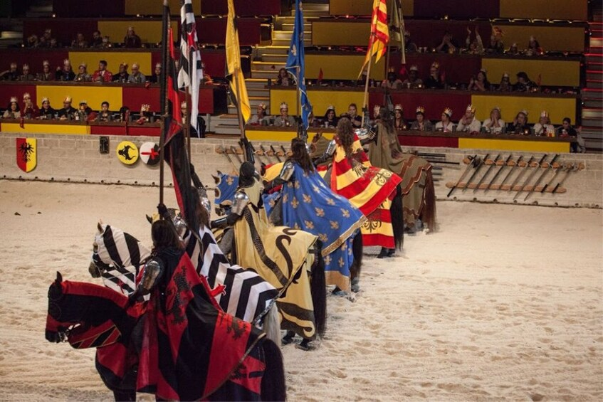 Show item 4 of 9. Medieval Times Dinner & Tournament