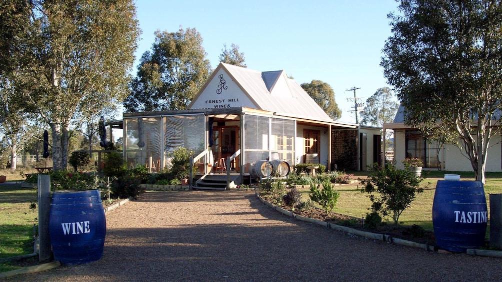 Show item 2 of 8. Earnest Hill wine tasting building in Australia