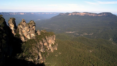 Scenic view of the Three Sisters in Australia